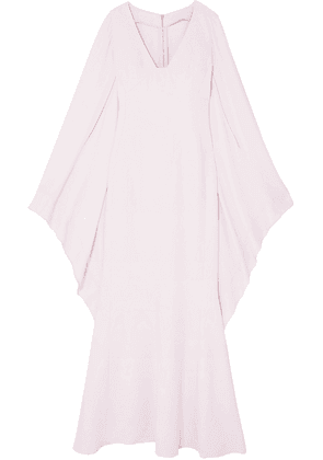 Antonio Berardi Draped Crepe And Georgette Gown Woman Pastel pink Size 42
