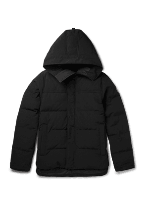 Canada Goose - Macmillan Quilted Shell Hooded Down Parka - Men - Black