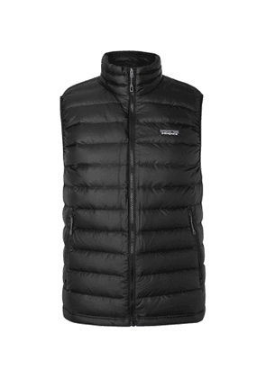 Patagonia - Slim-Fit Quilted DWR-Coated Ripstop Down Gilet - Men - Black
