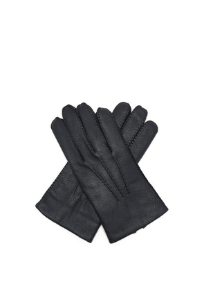 Dents - Cambridge Leather Gloves - Mens - Navy