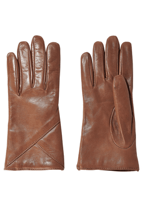 Iris & Ink Carrie Leather Gloves Woman Light brown Size S