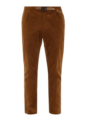 Gramicci - Nn Just Cotton-blend Corduroy Trousers - Mens - Beige