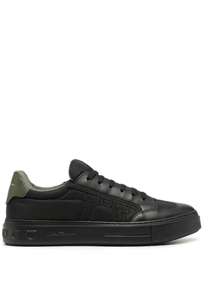Borg Leather Sneakers
