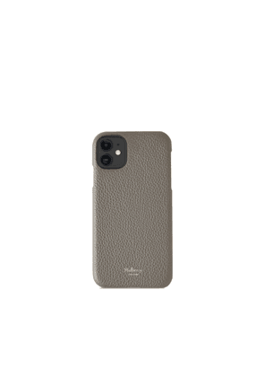 Mulberry iPhone 11 Cover - Charcoal