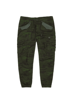 True Religion Camouflage-print Twill Cargo Trousers