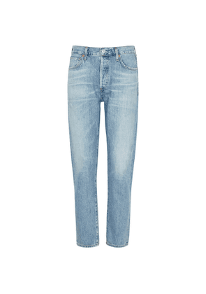 Citizens Of Humanity Liya Light Blue Tapered-leg Jeans