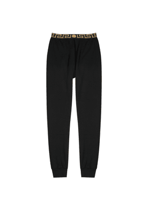 Versace Black Jersey Sweatpants