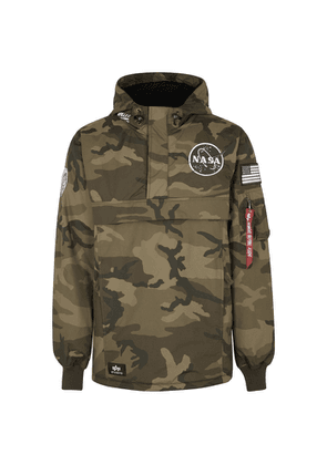Alpha Industries Nasa Camouflage-print Shell Jacket