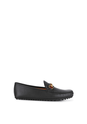 Gucci Kanye Black Leather Driving Shoes
