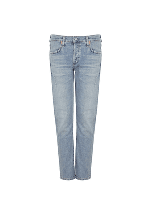 Citizens Of Humanity Emerson Blue Slim Boyfriend Jeans