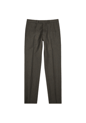 Dries Van Noten Peeler Pinstriped Straight-leg Wool Trousers