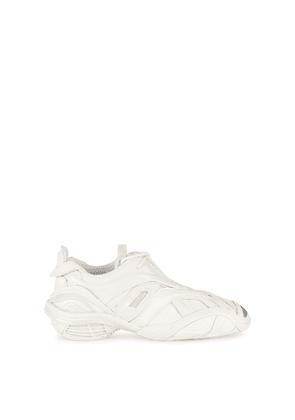 Balenciaga Tyrex Panelled Faux Leather And Mesh Sneakers
