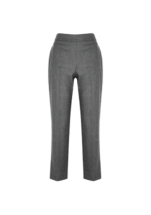 Stella McCartney Claire Grey Wool Trousers