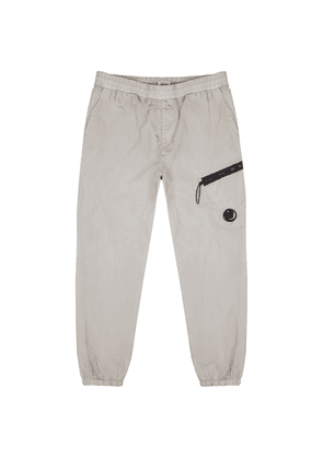 C.P. Company Chrome Grey Shell Sweatpants
