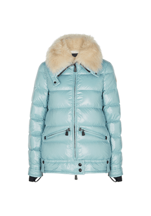 Moncler Grenoble Arabba Blue Quilted Shell Jacket