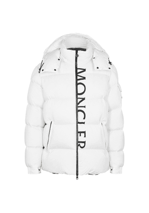 Moncler Maures White Quilted Shell Jacket