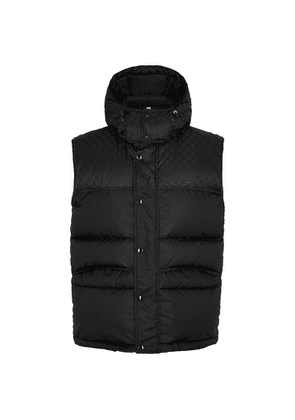Gucci GG-jacquard Quilted Shell Gilet
