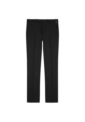 Fendi Black Slim-leg Trousers