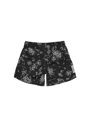 Off-White Paperclip Printed Shell Swim Shorts
