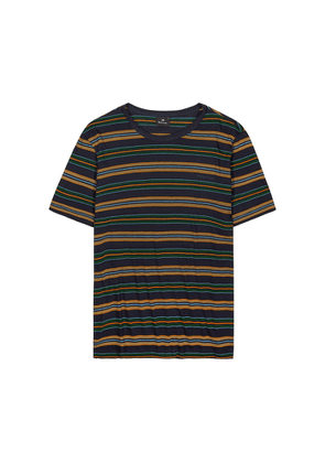 PS By Paul Smith Striped Cotton T-shirt