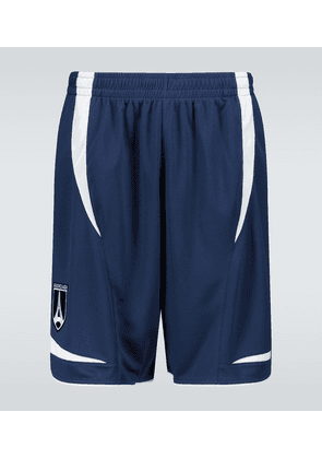 Technical fabric soccer shorts
