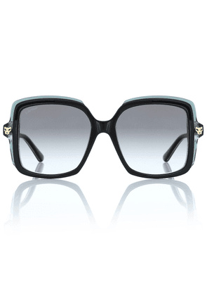 Panthère de Cartier oversized sunglasses