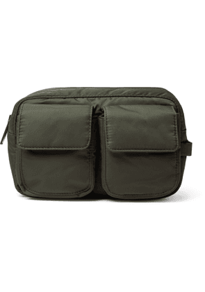 NN07 - Nylon Wash Bag - Men - Green