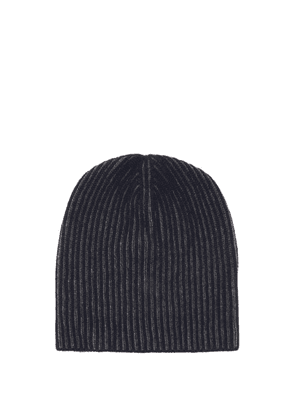 Begg X Co - Ribbed Cashmere Beanie Hat - Mens - Navy