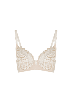 Wacoal Lace Essential Ivory Underwired Bra - D-F Cup