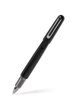 MONTBLANC - Montblanc M Resin and Platinum-Plated Ballpoint Pen - Men - Black