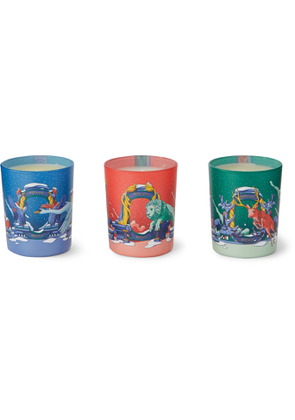 DIPTYQUE - Scented Candle Set, 3 x 70g - Men - Colorless