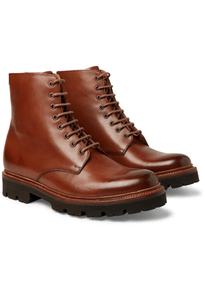 Grenson - Hadley Leather Boots - Men - Brown