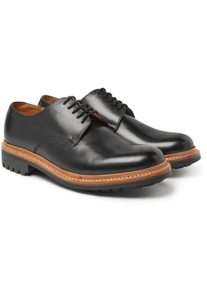Grenson - Curt Leather Derby Shoes - Men - Black