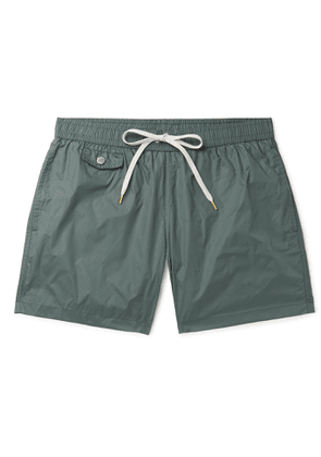 Hartford - Mid-Length Swim Shorts - Men - Green