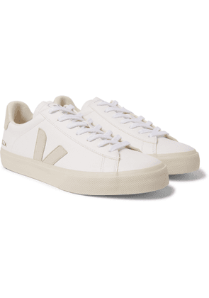 Veja - Campo Suede-Trimmed Leather Sneakers - Men - White