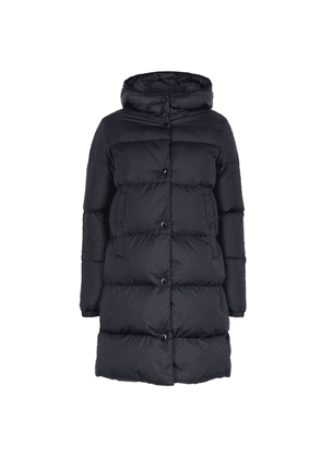 Moncler Burgaux Navy Quilted Shell Jacket