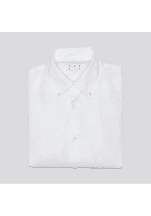 The Linen Shirt White