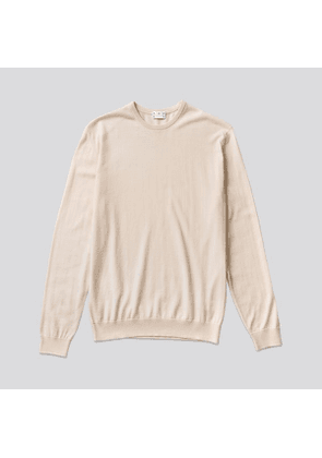 The Cotton Sweater Off White