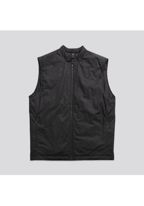 The Zip Vest Matte Black