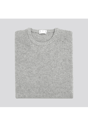 The Cashmere Sweater Light Grey
