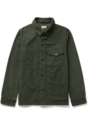 Hartford - Jimo Cotton-Corduroy Jacket - Men - Green