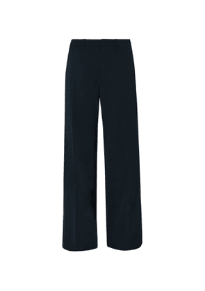 Lemaire - Wide-Leg Twill Trousers - Men - Gray