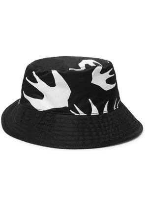 McQ Alexander McQueen - Printed Shell Bucket Hat - Men - Black