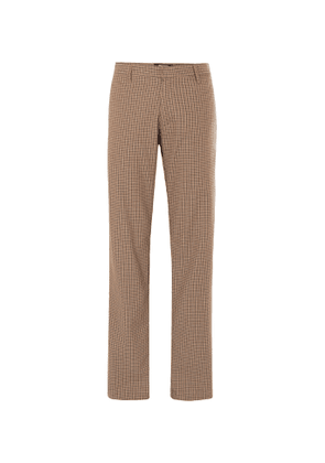Noon Goons - Jones Checked Cotton-Twill Trousers - Men - Neutrals