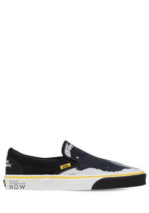 National Geographic Slip-on Sneakers