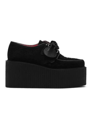 Molly Goddard Black Underground Edition Suede Triple Creepers