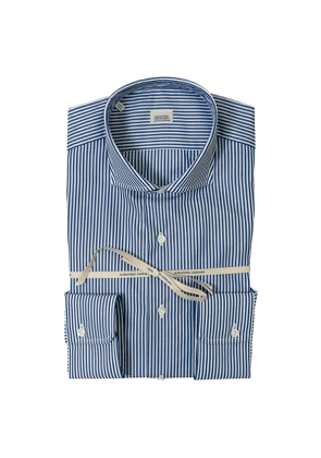 Blue Striped Super Fine Cotton Shirt