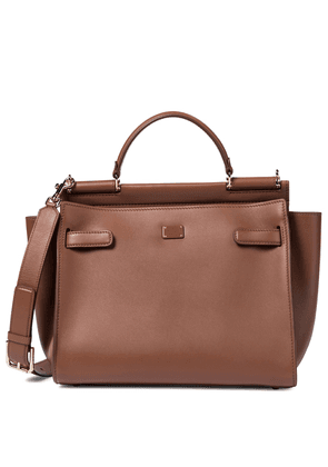 Sicily Medium leather tote