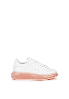 Alexander McQueen Larry White Leather Sneakers