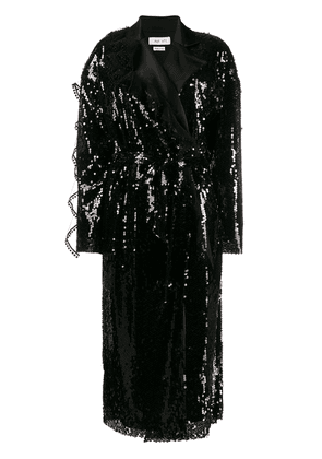 Act N°1 sequin blazer dress - Black